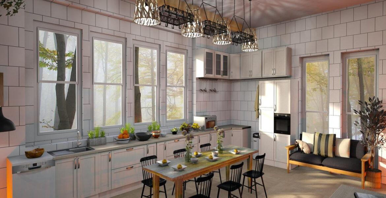 Kuchnia z oknem