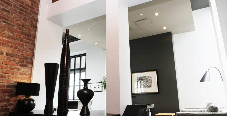 Loftowy salon